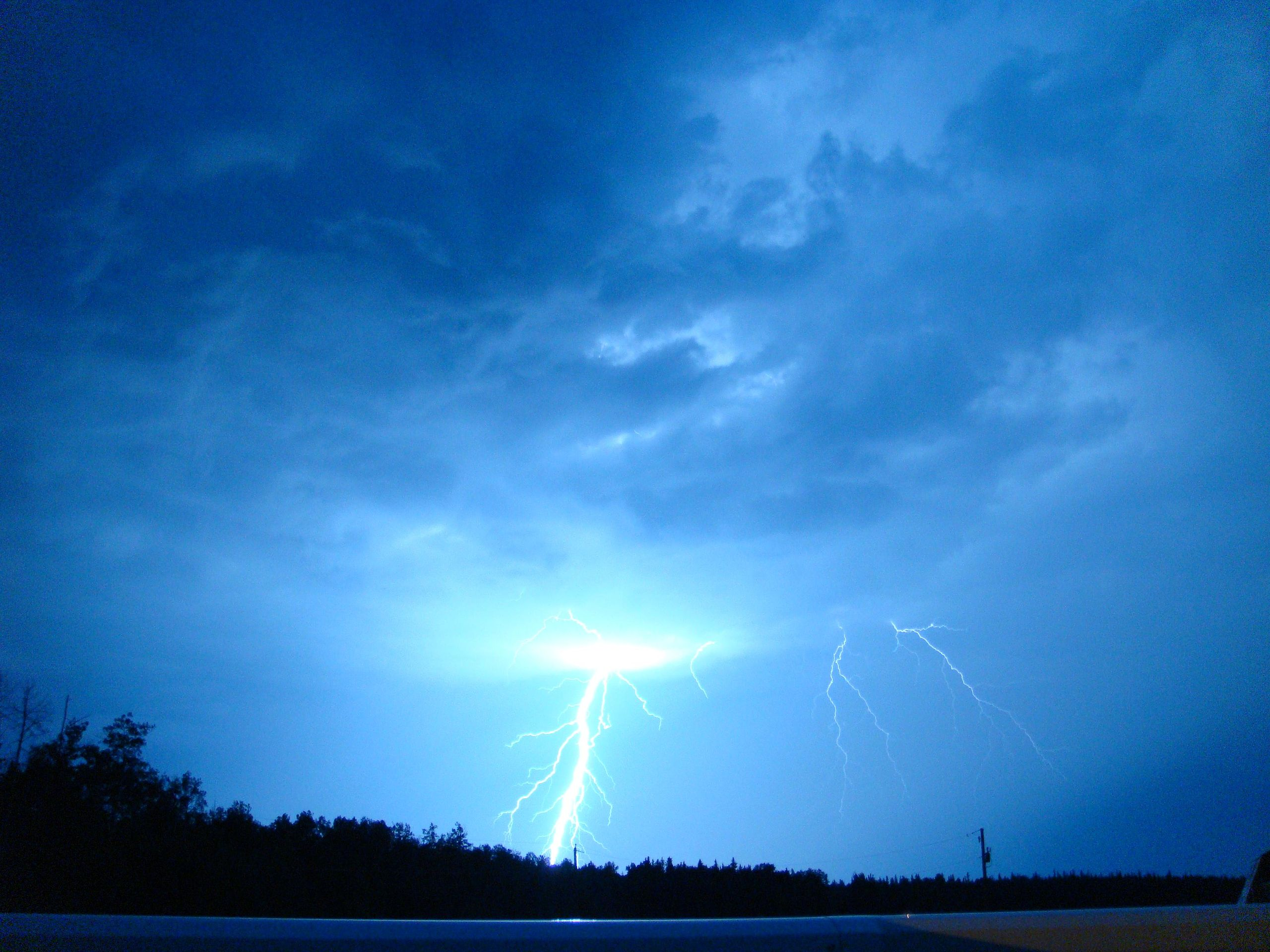 http://commons.wikimedia.org/wiki/Lightning#/media/File:LightningOverEdson.JPG
